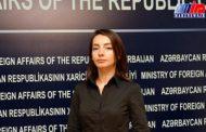 فرانسه حق دخالت در امور داخلی جمهوری آذربایجان را ندارد