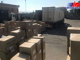 کشف حدود ۸هزار بسته کاغذ قاچاق در پایانه مرزی چذابه