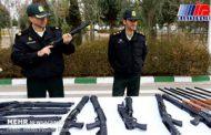 دستگیری ۳۳۱ نفر عامل تیراندازی و دارندگان سلاح غیرمجاز در خوزستان