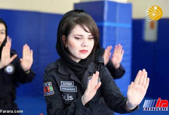آموزش زنان پلیس افغانستان در ترکیه +تصاویر