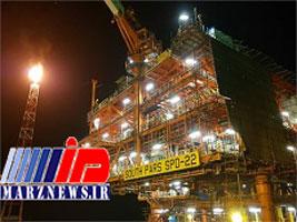 آغاز تولید گاز غنی از نخستین سكوی فازهای ۲۲ تا ۲۴ پارس جنوبی