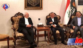 ظریف با رئیس ائتلاف الفتح عراق دیدار کرد