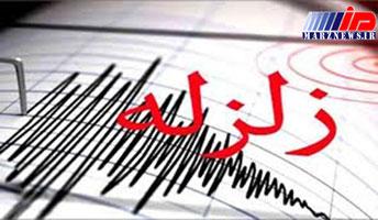وقوع زلزله در قصرشیرین
