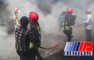 آتش سوزی یکی از مدارس خرمشهر را به تعطیلی کشاند