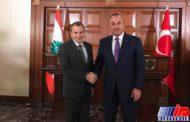 وزیران خارجه ترکیه و لبنان تحولات منطقه را بررسی کردند