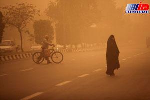 میزان گرد و غبار در آبادان به ۲۰ برابر حد مجاز رسید