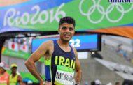 دونده المپیکی ایران در دو ماراتن عمان هشتم شد