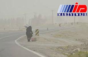 تداوم طوفان شن در سیستان و بلوچستان