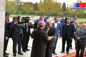 سفر ظریف به کردستان عراق گامی مهم در توسعه روابط