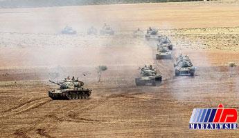 ترکیه تجهیزات نظامی بیشتری به مرز سوریه ارسال کرد