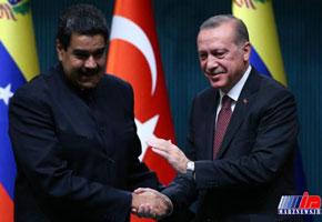 اردوغان قاطعانه از مادورو اعلام حمایت کرد
