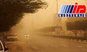طوفان و گرد و خاک در راه استان بوشهر