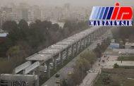 هوای چهار شهر کرمانشاه به مرحله هشدار رسید