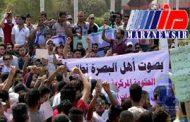 اعتراض خیابانی مردم در بصره