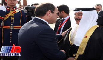 گفتوگوی تلفنی شاه بحرین و رئیسجمهور مصر
