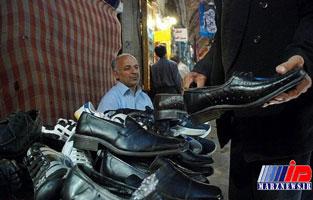 کفشهای ایرانی در پای عراقی ها و افغانستانی ها