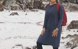هانیه توسلی در جزیره هرمز+عکس