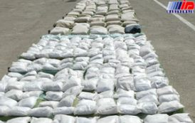 ۲٫۱ تن مواد مخدر در سراوان کشف شد