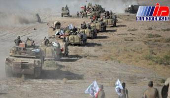 الحشد الشعبی با ۵۰ موشک مواضع داعش را در سوریه بمباران کرد