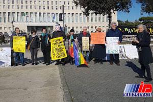 اعتراض ایتالیایی ها به تجارت نظامی رم با عربستان