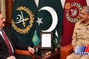 دیدار فرمانده ارتش پاکستان با رئیس ائتلاف سعودی