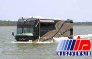 اتوبوس دریایی در شورابیل راه افتاد