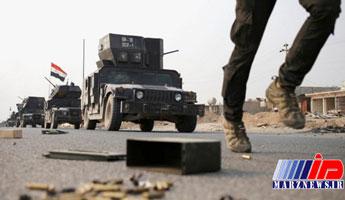 حمله هوایی ارتش عراق به داعش در خاک سوریه