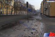 بارش برف سیاه در روسیه