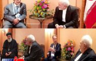 دیدار وزیرخارجه عمان و رئیس مجمع جهانی اقتصاد با ظریف درمونیخ