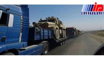 ورود ۱۰۰ کامیون مشکوک ائتلاف آمریکا از عراق به شرق سوریه