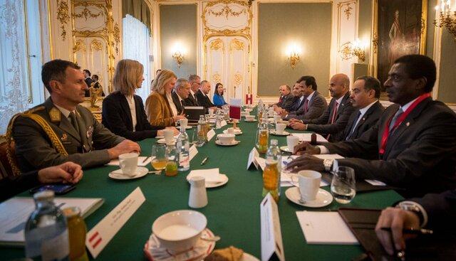 ایران، موضوع گفتوگوی رئیسجمهور اتریش و امیر قطر