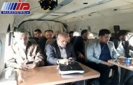 وزیر نیرو بازدیداز سدهای خوزستان برای کنترل سیلاب را آغاز کرد