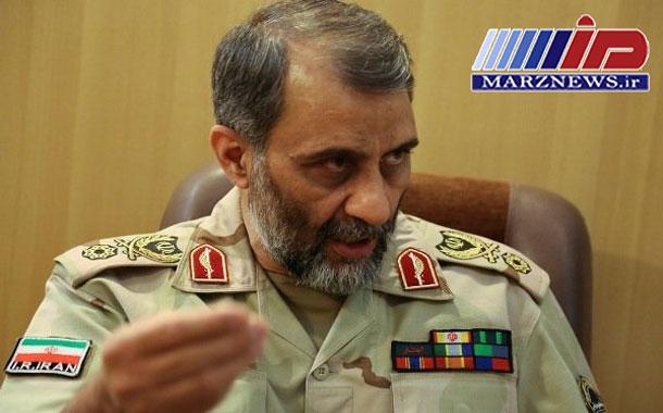 گلایه فرمانده مرزبانی از محقق نشدن اعتبارات حفاظت الکترونیکی مرزها