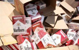 تریلی حامل سیگار قاچاق در مرز اینچه برون توقیف شد