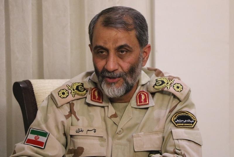سفر فرمانده مرزبانی کشور به سیستان و بلوچستان