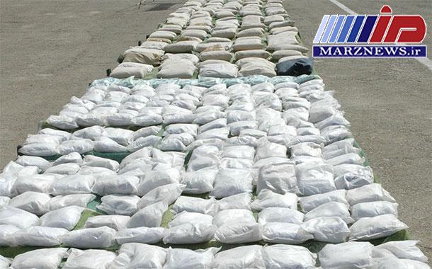 کشف ۲٫۳ تن انواع مواد مخدر در جنوب سیستان و بلوچستان