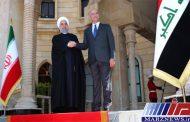استقبال رسمی رئیس جمهور عراق از دکتر روحانی