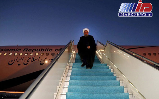 رییس جمهوری وارد تهران شد