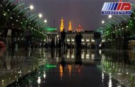 بارش رحمت الهی در کربلا و نجف