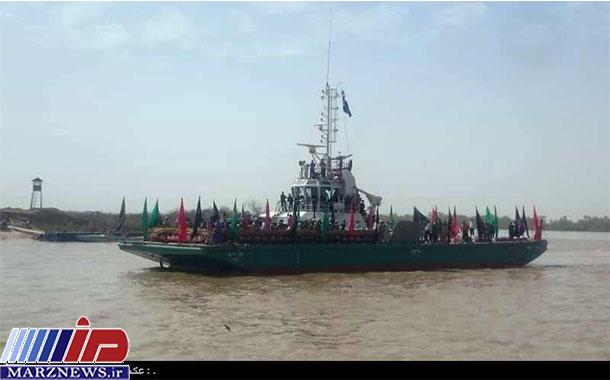 پیکر ۱۱۵ شهید دفاع مقدس از مرز آبی خرمشهر به کشور بازگشت