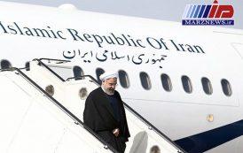 رئیس جمهور وارد استان بوشهر شد