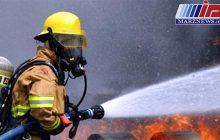 آتش سوزی خط سراسری انتقال بنزین در خوزستان مهار شد