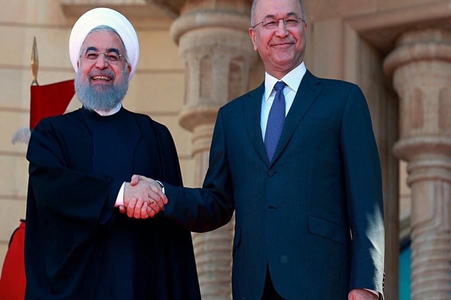 سفر روحانی به عراق مقدمه بی اثر کردن تحریم هاست