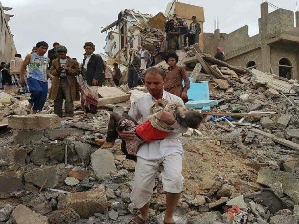 سه عضو خانواده یمنی در حمله هوایی عربستان جان باختند