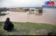 سطح سیلاب شهرک «کرناچی» کرمانشاه یک متر پایین آمد
