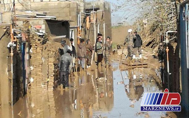 سیل ۹۰۰ خانه مددجویان خراسان شمالی را تخریب کرد