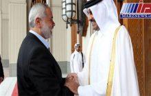 گفتوگوی تلفنی هنیه با امیر قطر