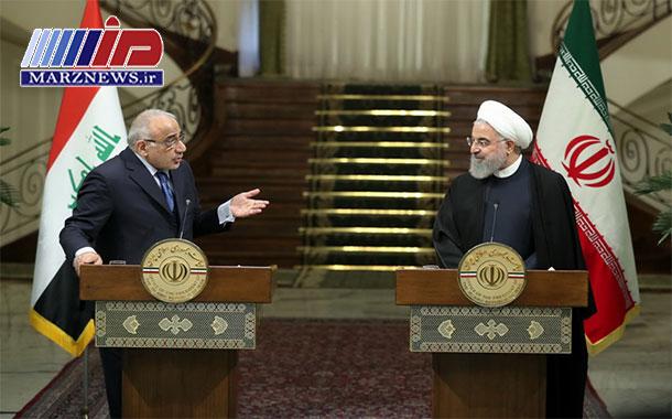 صلح و ثبات عراق حاصل کمک ها و حمایت های ایران است