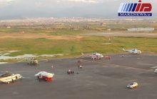 کاهش ارتفاع آب، فرودگاه گرگان را به شرایط عادی برگرداند