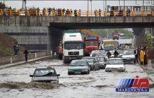 بارندگی شدید در خراسان رضوی موجب آبگرفتگی شد